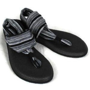 Sanuk Yoga Sling 2 Striped Prints Sandals